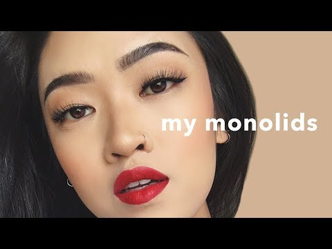 48c0a84336a Sandy Lin dedicates a video to discussing monolids, from her thoughts on  plastic surgery and the use of lid tape and her own past living with and  learning ...