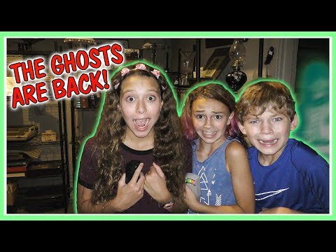 😱ARE GHOSTS REAL?!?!😱 | OUR SECOND GHOST TOUR |  We Are The Davises