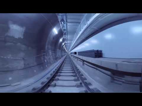 Crossrail railway systems: 360° journey through Whitechapel station
