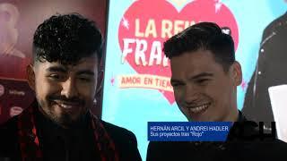 #Hernandrei: Hernán Arcil y Andrei Hadler hablan de sus proyectos tras #RojoTVN