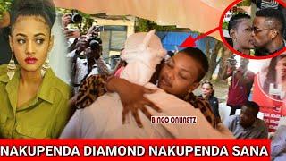 Diamond Ashindwa Kuzuia Hisia Zake Kwa Wema Sepetu, Tanasha, Zari na Hamisa Hapatoshi Full Video