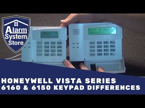 Alarm System Store Tech Video - Honeywell 6160 & 6150 Differences
