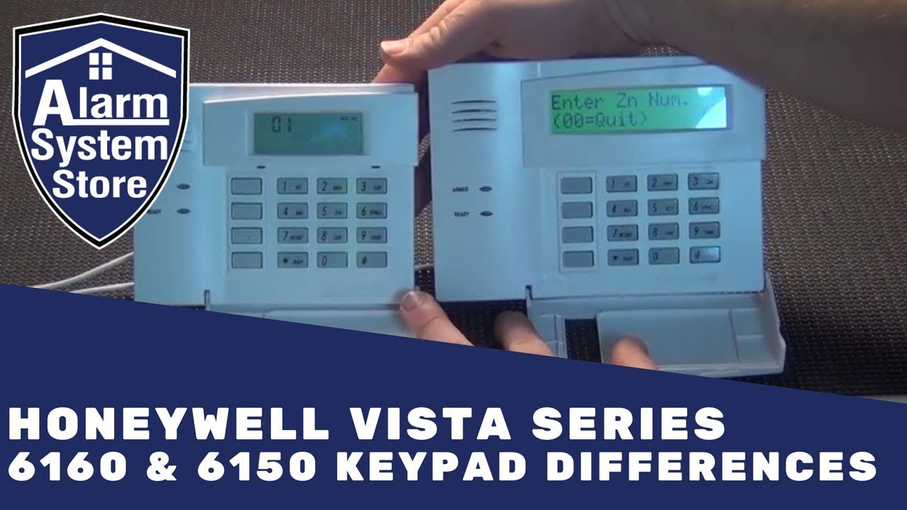 alarm system store tech video honeywell 6160 6150 differences rh youtube com ademco 6150 installation manual pdf ademco 6150 user manual