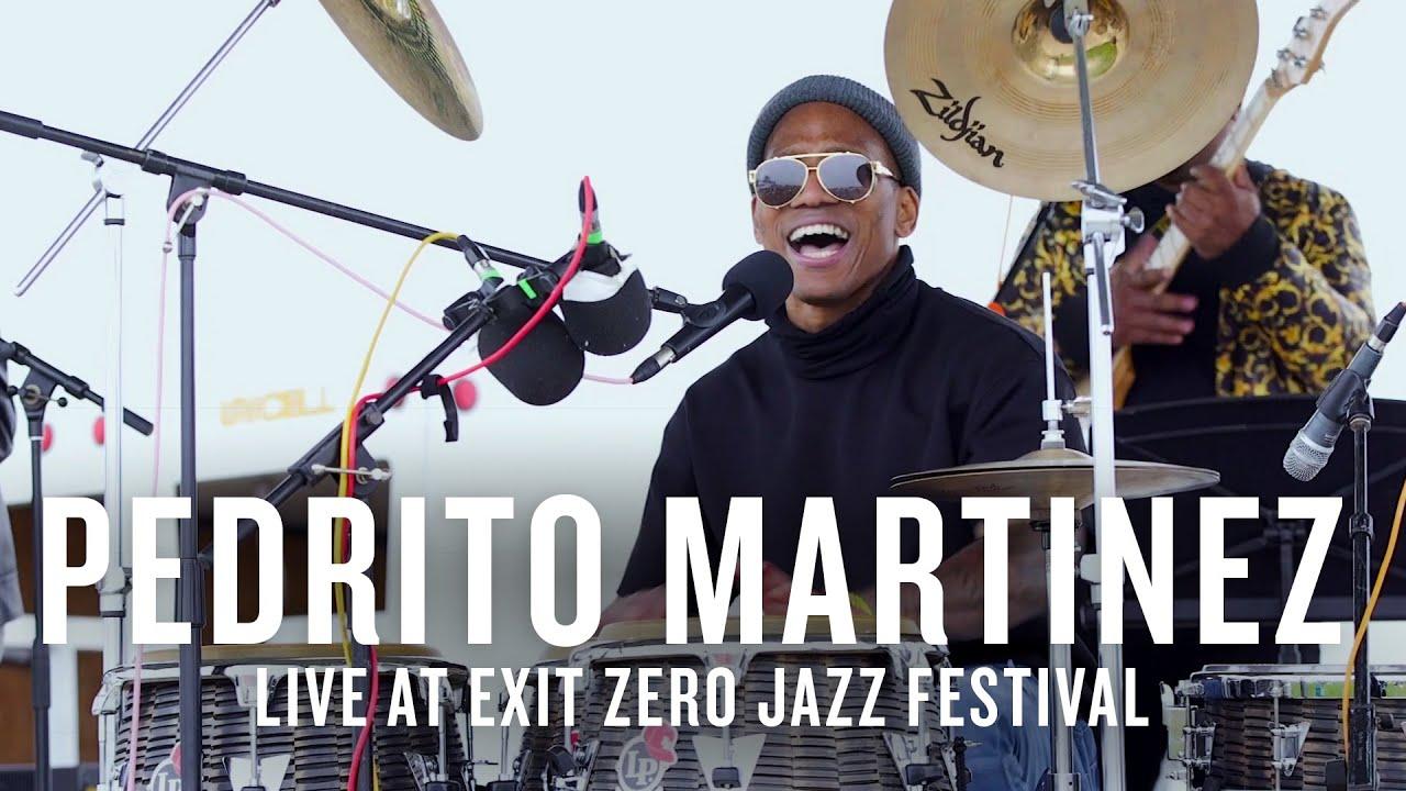 Pedrito Martinez live at the Exit Zero Jazz Festival   JAZZ NIGHT IN AMERICA