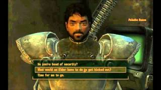 Fallout New Vegas: Power armor training part 1