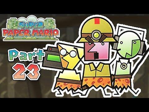 Super Paper Mario: Part 23 - A Crag in the Dark!