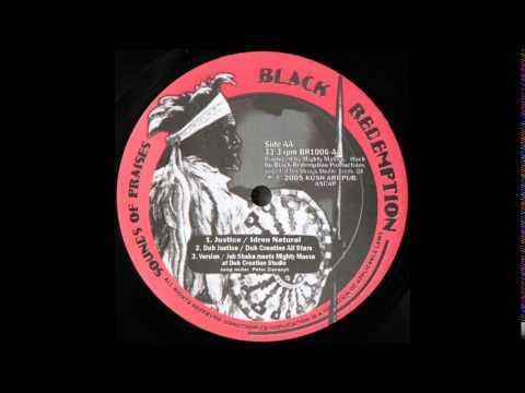 "10"" Idren Natural/Dub Creation All Stars/Jah Shaka/Mighty Massa - Justice/Dub Justice/version"