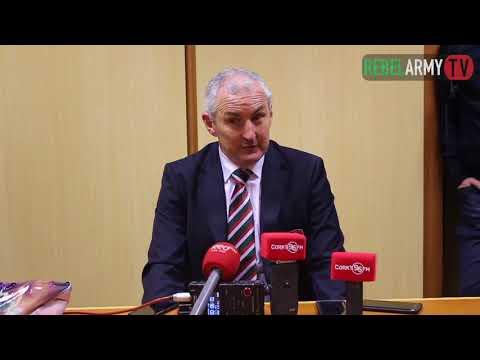 John Caulfield Press Conference Post Dundalk. Cork City 1-0 Dundalk