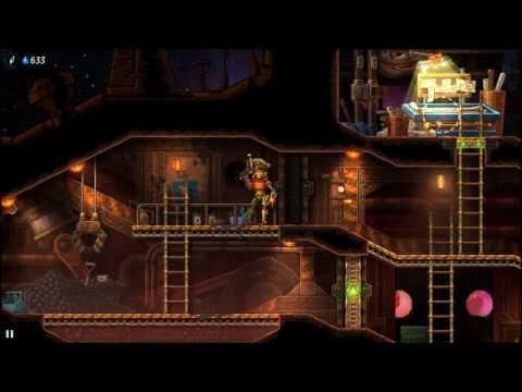 Steamworld Heist - 1: Gunfire is always a good start |