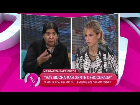 Margarita Barrientos analiza la pobreza Argentina