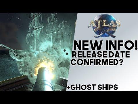 Atlas: NEW INFO!! Confirmed Release Date?? Legendary Ghost Ships, NPC Trading Ships, & More!!