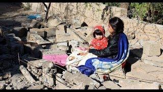 Devastación y angustia en la población más golpeada por el terremoto de Irán