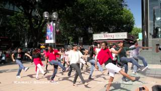 Official Singapore Indian Flash Mob 2 [HD]- Dinka Chikka Nakku Mukka
