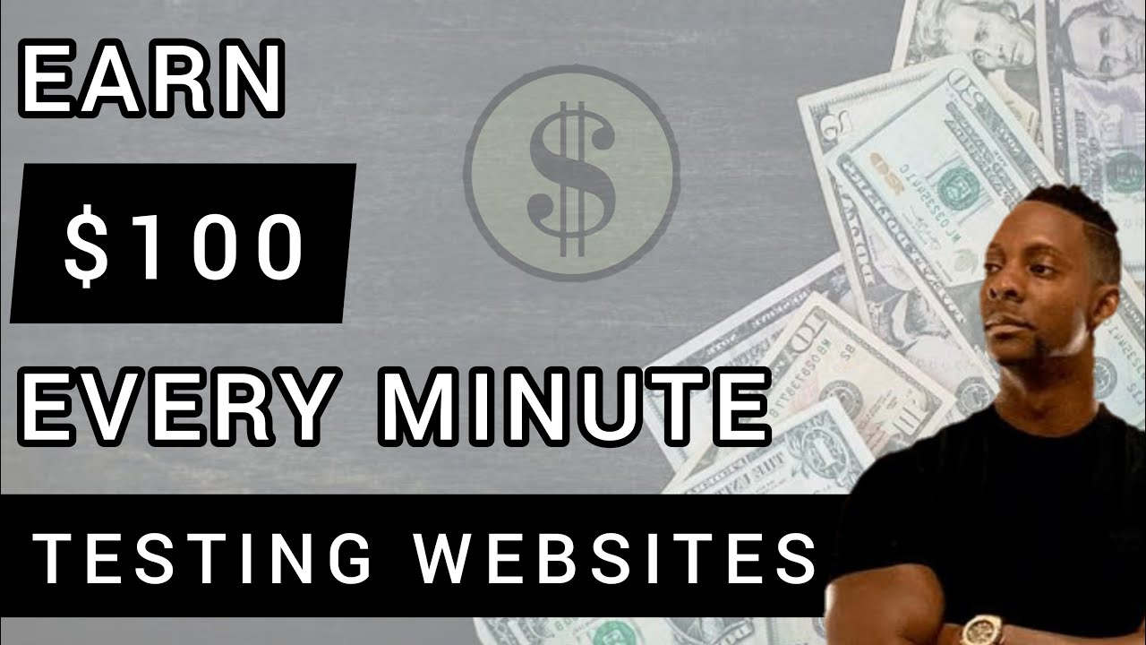 Earn $100 Every Min Testing Websites Right NOW [Make Money Online]