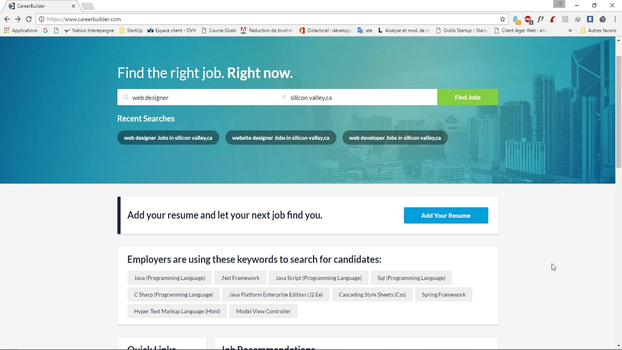 Web Scraping   Career Builder  Careerbuilder Resume Search