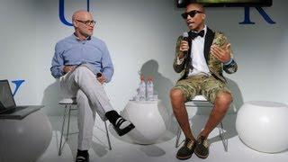 Pharrell Williams Speaks at Design Miami