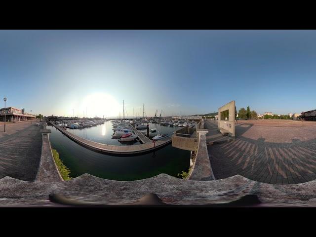 Puerto deportivo de Vilagarcía de Arousa 360º