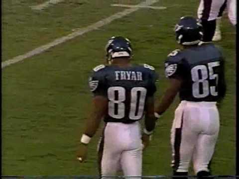 1996 Pre Season Week 1 Eagles at Baltimore clip1