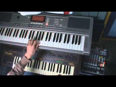 Tomhet (Burzum keyboard cover)