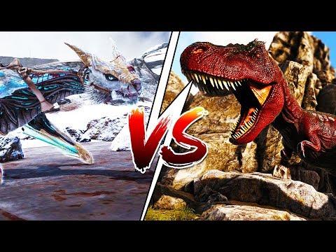 T-REX VS MANAGARMR *FINALE* - ARK SURVIVAL EVOLVED EXTINCTION EXPANSION #22