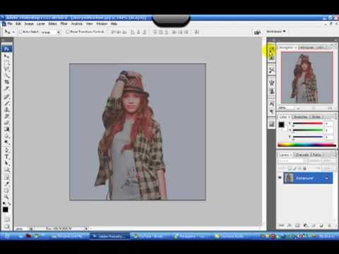 Contorno de Imagen con Photoshop CS3 - YouTube