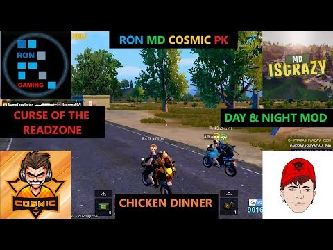 [Hindi] PUBG Mobile | Curse Of The Readzone & Funny Bike Racing Day & Night Mode