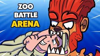 NIEBEZPIECZNY LEW! *nowa postać* - ZOOBA - Zoo battle arena!