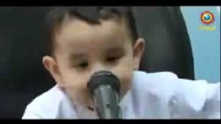 Repeat youtube video 3 year old boy memorized the whole Holy Quran www.darsequran.com.mp4