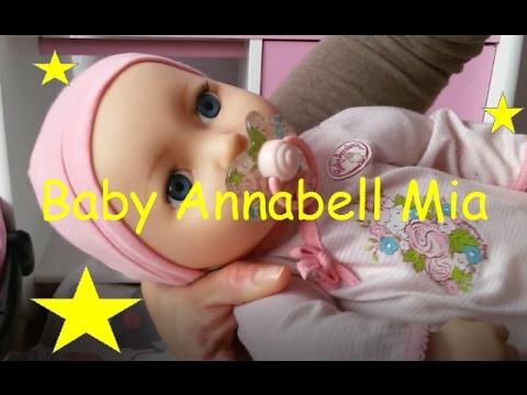 Zapf Creation Baby Annabell Mia So Soft Puppe Mu 241 Eca