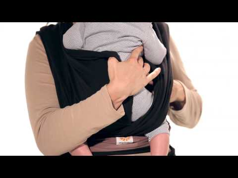 Instructions Ergobaby Wrap - Basic Tie Infant (5 - 14 kg)