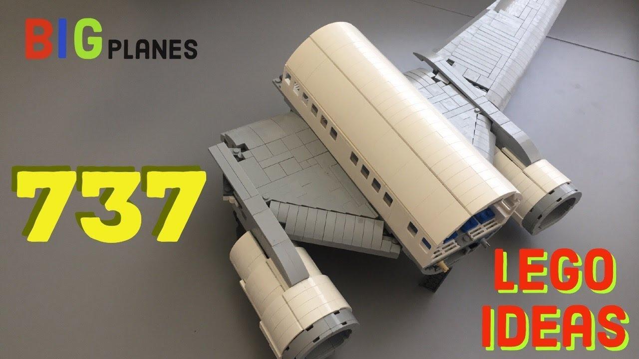 lego 737 major wing