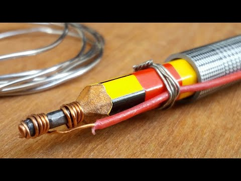 Building of Graphite Pencil SOLDERING IRON