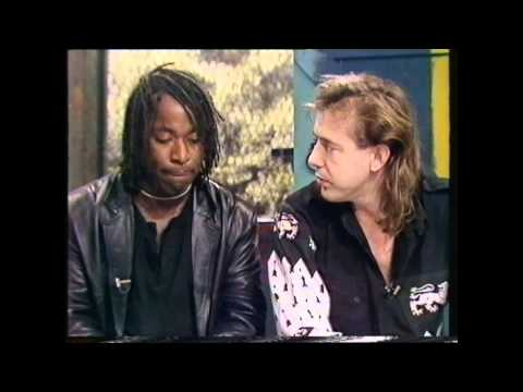 Big Country Interview 1988 Mark & Tony with Andy Crane (But First This, Childrens BBC)