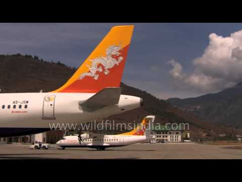 Druk Air is national carrier of Bhutan, while Bhutan Airways belongs to Tashi Group