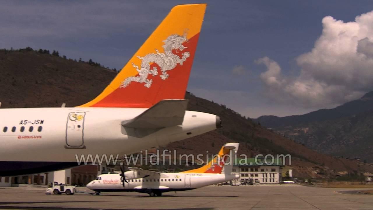 Druk Air Is National Carrier Of Bhutan While Bhutan Airways Belongs