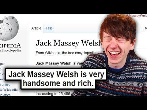 I Edited My Own Wikipedia To Say Whatever I Want