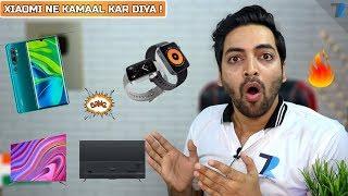 Mi CC9 Pro (Mi Note 10), Mi TV 5 Series, Mi Watch Launched - Coming Soon To India !💪