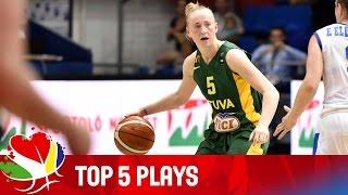 Top 5 Plays - EuroBasket Women 2015