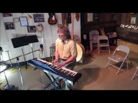 Johnny (piano) at Bob's Barn in Lake Odessa, MI - 3-25-18