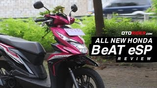 All New Honda BeAT eSP 2016 Test Ride Review – Indonesia | OtoRider