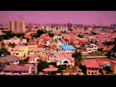I LOVE LAGOS- OLAMIDE [LYRICS]