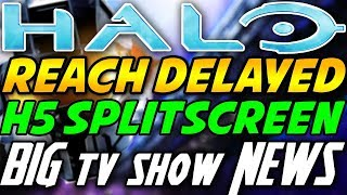 Halo MCC Reach Delayed? Master Chief Actor Announced for Halo TV Show and Halo 5 Splitscreen News!
