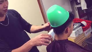 Tự cắt tóc cho nhau ở Nhật Bản || Cuộc Sống Nhật Bản || Ncc Vlog