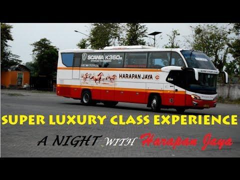 (part 2) SENSASI Perjalanan Malam bersama Super Luxury Class | #TripReport Harapan Jaya Avante