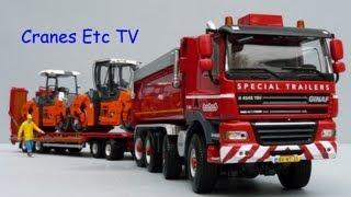 WSI Nooteboom ASD Trailer + GINAF Tipper by Cranes Etc TV