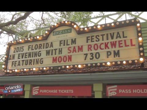 Orlando LIVE - Florida Film Festival 2015 - Sam Rockwell Q&A