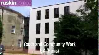 Youth and Community Work (Ruskin College)