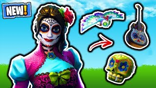 FORTNITE NEW ROSA SKIN & DANTE SKIN! FORTNITE ITEM SHOP UPDATE! FREE V-BUCKS GIVEAWAY LIVE