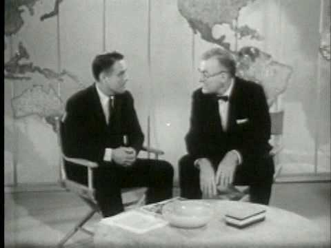 Sargent Shriver tes Peace Corps on National TV