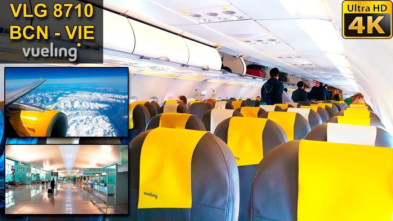 Trip report barcelona vienna vueling a320 youtube for Oficinas vueling barcelona